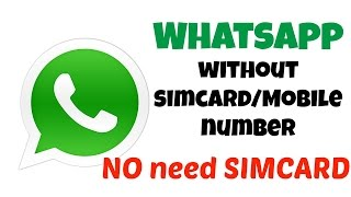 getlinkyoutube.com-How to Register with whatsapp without a Simcard/Mobile Number | Android/iPhone (2015)
