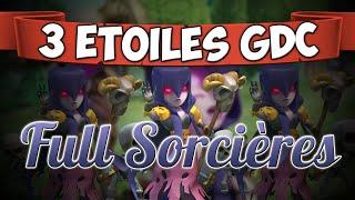 getlinkyoutube.com-Clash of Clans | INCROYABLE 3 ÉTOILES en FULL SORCIÈRES [GDC - Hdv10]