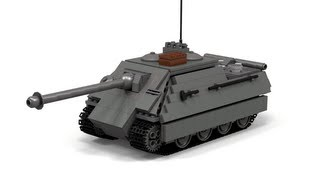 getlinkyoutube.com-Lego WWII Jagdpanther Instructions