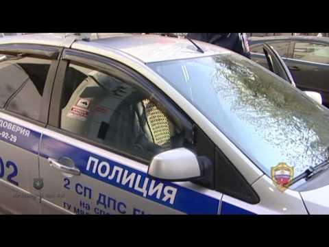 На Новом Арбате задержан водитель, нарушавший ПДД и ранее лишенный права управления