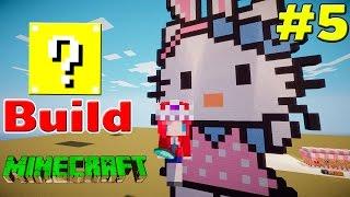 getlinkyoutube.com-Minecraft : Lucky Build # 5 เปิดลักกี้บล็อคมาสร้างคิตตี้ใส่หูกระต่าย