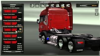 getlinkyoutube.com-Scania V8 - Euro Truck Simulator 2 - Comentado