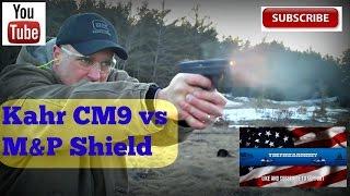 getlinkyoutube.com-Kahr CM9 vs M&P Shield (Best Concealed Carry Gun) - TheFireArmGuy