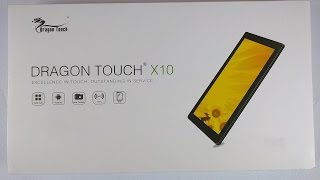 getlinkyoutube.com-Dragon Touch X10 tablet Unboxing and Review. Benchmarking inexpensive Android Tablet