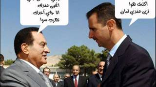 تقليد السادات وهو بيشتم مبارك