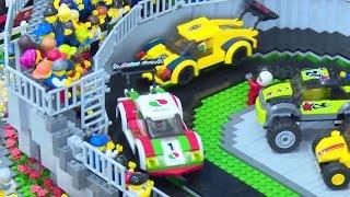 getlinkyoutube.com-20万ピースのレゴブロックで巨大ジオラマ!「レゴシティ トラックキャラバン」 #Lego City #event