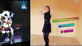 getlinkyoutube.com-Just Dance 2014 - Applause - Classic 5 stars 5 gwiazdek PL