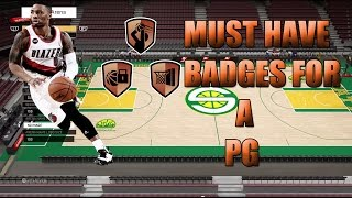 getlinkyoutube.com-NBA 2K16 - Must Have Badges For your PG