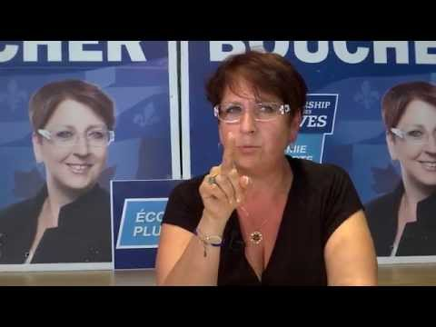 Élections 2015 - Sylvie Boucher mise sur l'économie, les familles et l'emploi