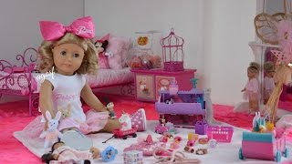 getlinkyoutube.com-American Girl Doll Poppy's Bedroom ~ Watch in HD!