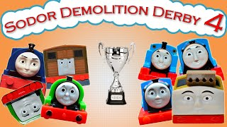 getlinkyoutube.com-Sodor Demolition Derby 4 | Thomas and Friends Trackmaster | Strongest Engine