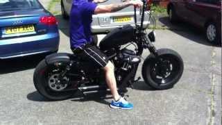getlinkyoutube.com-Harley custom bobber soz