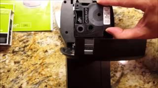 getlinkyoutube.com-How To Change a Dymo Label Maker Cartridge