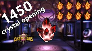 1450 crystal opening || marvel contest of champions (part 112)