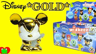 getlinkyoutube.com-Disney Wikkeez Blind Bags 50+ To Collect Plus Gold Rockstar Mickey