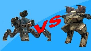 War Robots: Fujin VS Rhino