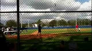 Matt Joyce hitting