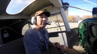 getlinkyoutube.com-Luscombe Flying Power OFF precision landings