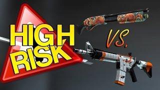 getlinkyoutube.com-CS:GO - HIGH RISK - Trade-Up Contract #4