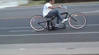 getlinkyoutube.com-Custom Beach Cruiser Bicycle with Air Ride Suspension