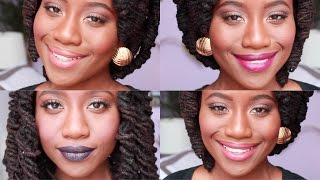 Top 12 Wet N Wild Megalast Lip Swatches for WoC!!! #ThePaintedLipsProject | JASMINE ROSE