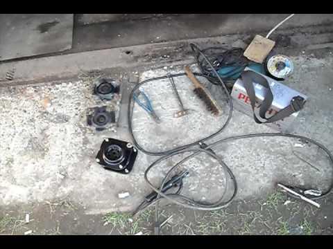Mazda MPV эксплуатация и ремонт.замена опор . replacement of bearings shock absorber Mazda MPV