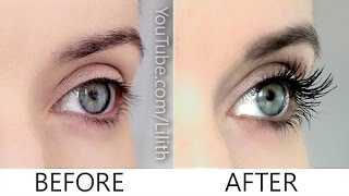 getlinkyoutube.com-How to grow lashes naturally ✿ DIY for longer, thicker, fuller eyelashes