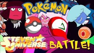 getlinkyoutube.com-Pokémon Steven Universe battle - Garnet challenges Jasper