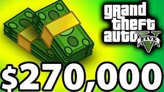 getlinkyoutube.com-Fastest Way to Make Money - GTA 5 Tips and Tricks, $270,000 / Hour Racing Method
