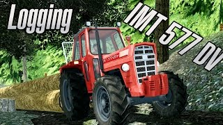 getlinkyoutube.com-Farming Simulator 2013 - Forest - Logging - IMT 577 DV