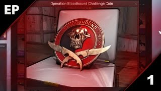 getlinkyoutube.com-CS:GO Operation Bloodhound - Falchion Case opening and Mission XP drop