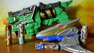 getlinkyoutube.com-Limited Edition Dino Charge Morpher & Gold Ptera Morpher Review (Power Rangers Dino Charge Toys)