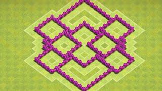 getlinkyoutube.com-Clash of Clans - Town Hall 6 (TH6) Farming Base