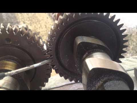 Как выставить метки на двигателе Toyota 3s
