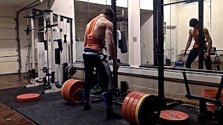 David Laid - High Volume Deadlift Workout