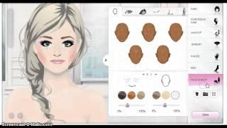 getlinkyoutube.com-stardoll:elsa the snow queen make up tutorial