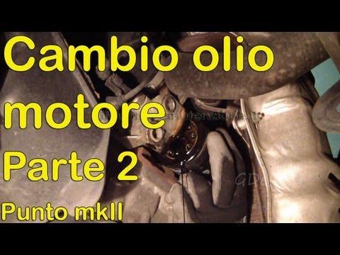 (PARTE 2) Cambio olio motore auto fiat punto 2