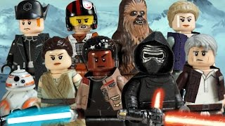 getlinkyoutube.com-Custom LEGO Star Wars: The Force Awakens Minifigures Part 1