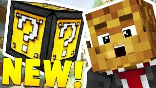 getlinkyoutube.com-MINECRAFT EPIC LUCKY BLOCK RACE - INSANE LOOT AND MICROBATTLES
