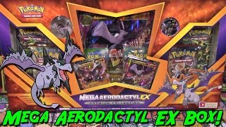 getlinkyoutube.com-Pokemon Cards - Opening an EARLY Mega Aerodactyl EX Premium Collection Box!