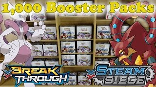getlinkyoutube.com-1,000 POKEMON TCG BOOSTER PACK HOLIDAY OPENING:: Over $4,000 in retail!!!