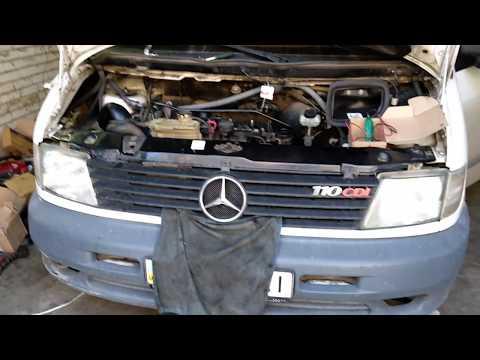 Mercedes vito 110cdi не заводится ремонт проводки