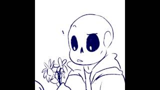 getlinkyoutube.com-[Comic Fandub] Undertale - Flowers