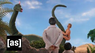 getlinkyoutube.com-Fantasy Island Dino Sex | Robot Chicken | Adult Swim