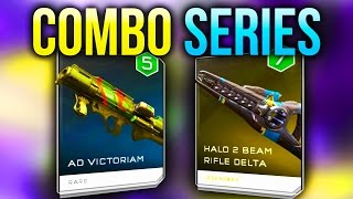 getlinkyoutube.com-AD Victoriam | H2 Beam Rifle Delta - Combo Series - Halo 5 Guardians