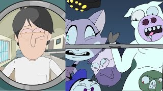getlinkyoutube.com-The Knock Knock Joke Song | Dolan Animated Music
