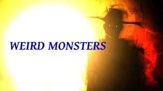 getlinkyoutube.com-Weird Monsters - Black Eyed Woman, Demon, Wendigo, Hat Man and More