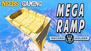 getlinkyoutube.com-GTA 5 - MEGA RAMP - World Record!