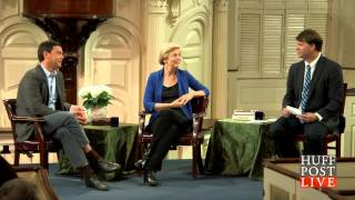 getlinkyoutube.com-The Huffington Post Live - Elizabeth Warren & Thomas Piketty Discuss Nature & Income Inequality.