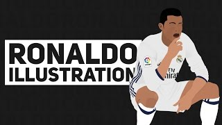getlinkyoutube.com-Speed Art - Ronaldo Illustration